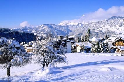 Notre dame de bellecombe 73 hiver gilles lansard - Office du tourisme notre dame de bellecombe ...
