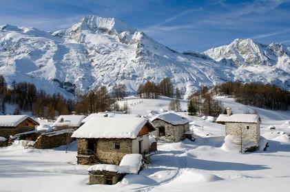 le Monal 73 hiver | Gilles Lansard - Photographe professionnel